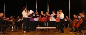 Le final de l'orchestre avec la chorale